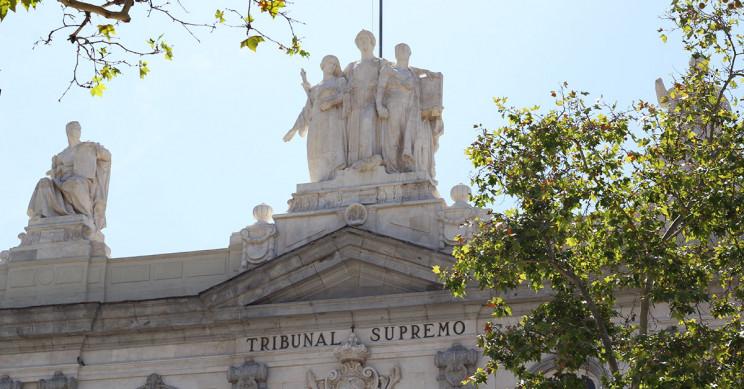 Parte de la fachada del Tribunal Supremo