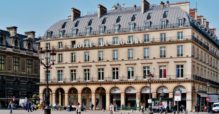 Fachada Hôtel du Louvre / Wikimedia Credits: Zairon [CC BY-SA]