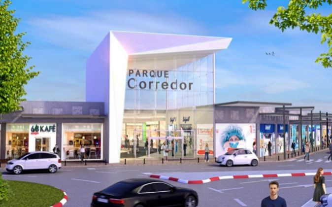 Imagen del reformado centro comercial Parque Corredor.  / Parque Corredor.