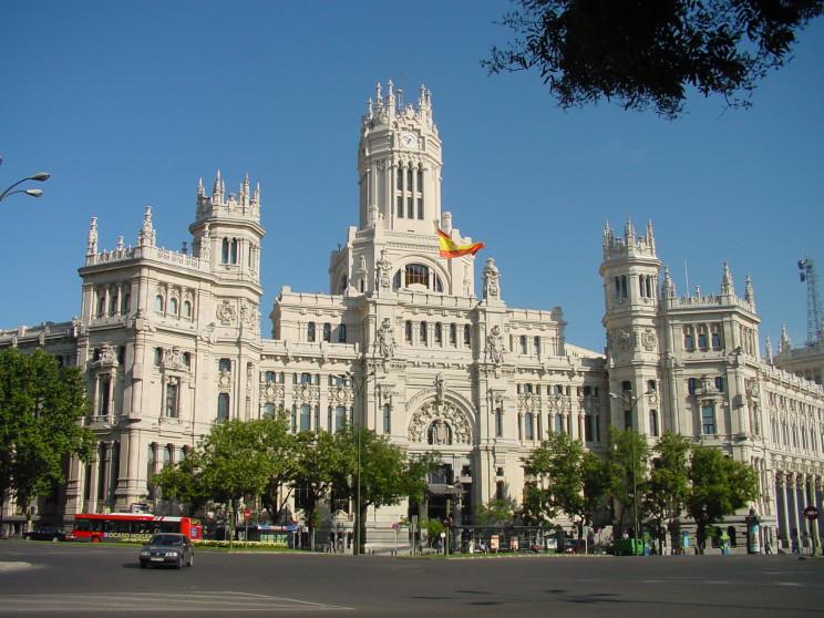 Ayuntamiento de Madrid. / Wikimedia commons