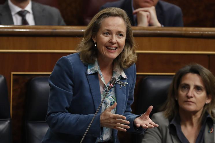 La vicepresidenta de Asuntos Económicos, NadiaCalviño / Gtres