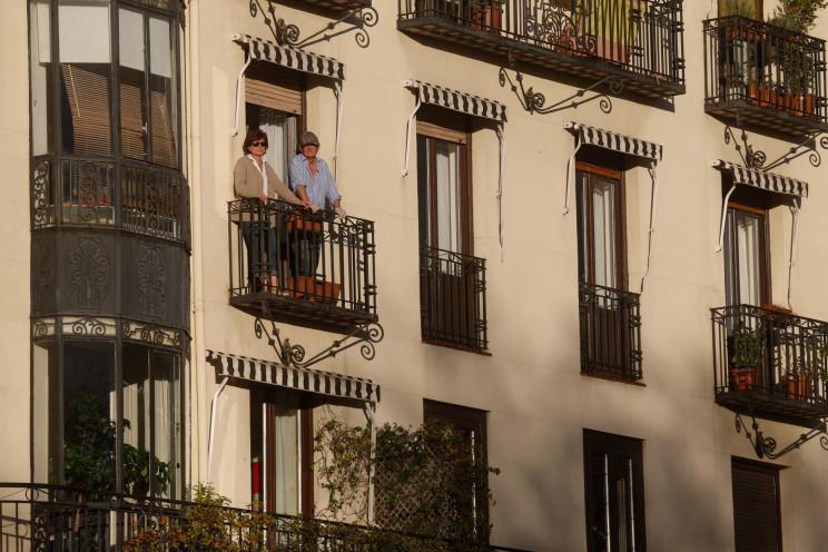 Pisos de Madrid en pleno confinamiento / Gtres