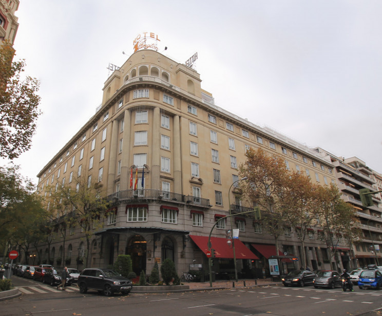 Hotel Wellington./ Luis García (Zaqarbal). / Wikimedia commons