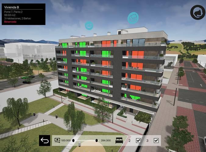 Recreación virtual de Viewtek. / Viewtek.