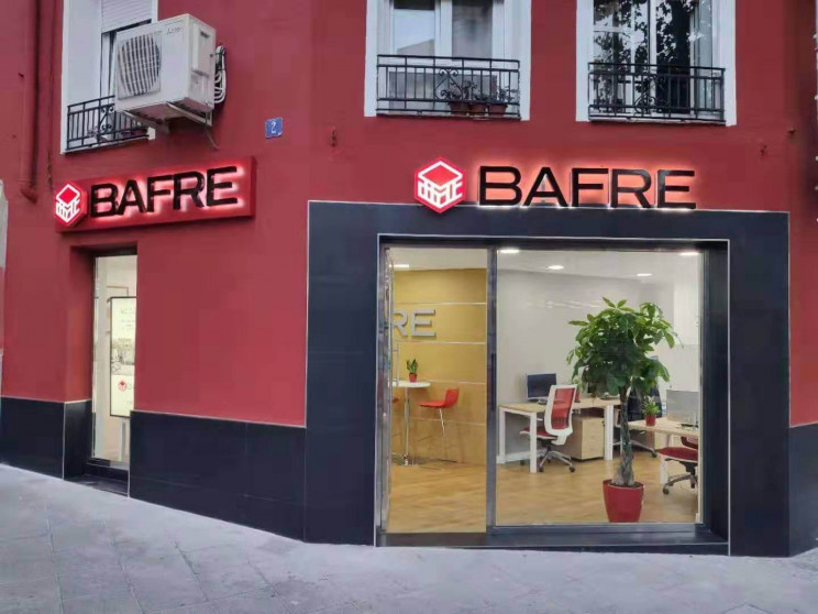 Agencia de Bafre en Atocha (Madrid). / Bafre.