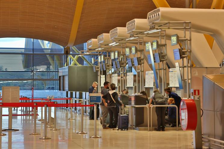 Imagen del aeropuerto Adolfo Suárez (Madrid) / Pixabay
