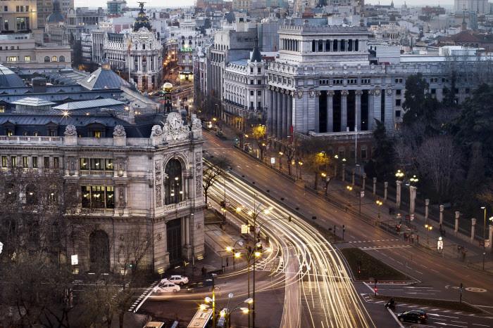 Panorámica del Banco de España en Madrid / Gtres