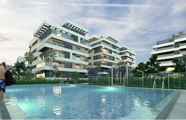 Promoción de primera vivienda Terrazas de Teatinos en Málaga / Foro Consultores