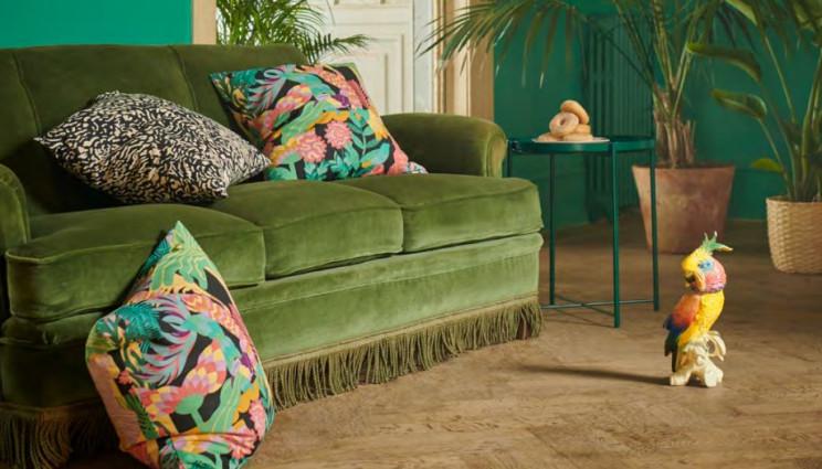 Patrones tropicales y muy coloridos para animar la temporada / Ikea