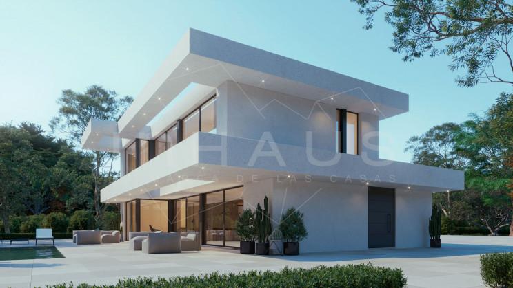 Vivienda modular modelo Denia / inHAUS