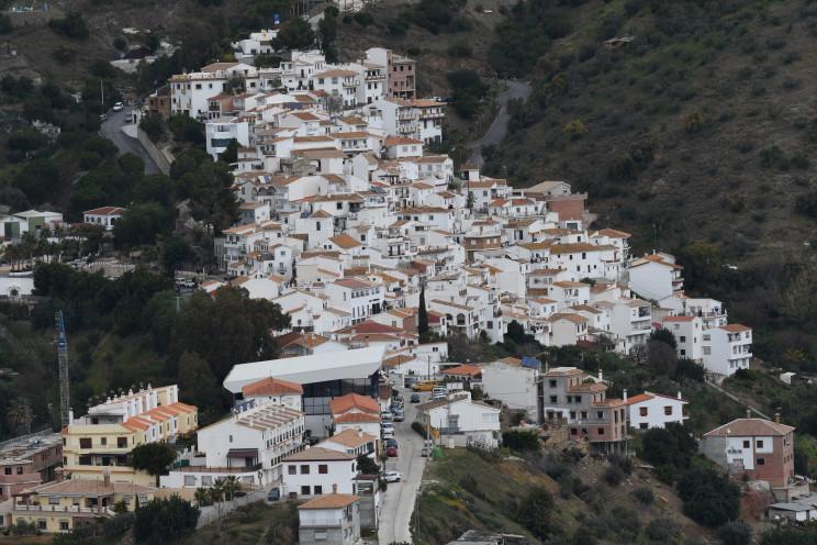 Vistas de Totalán, un pueblo malagueño / Gtres
