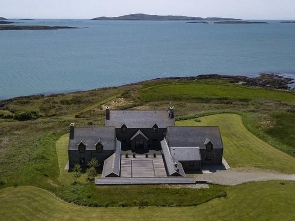 Casa en isla de Irlanda