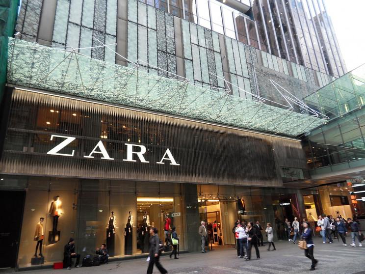 Tienda de Zara / Wikimedia commons