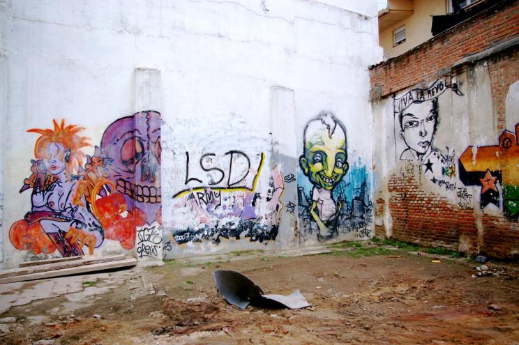 Imagen del derribo de una vivienda okupada en Embajadores / Flickr/Creative commons