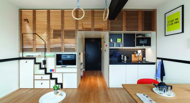 Imagen de un 'hotel híbrido' / Zoku