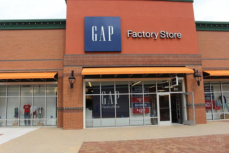 Tienda de Gap en Georgia / Wikimedia commons