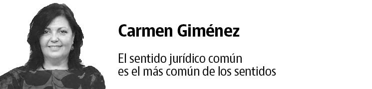 """Carmen Giménez - <p>Carmen es Abogado desde 1984, y Agente de la Propiedad Inmobiliaria desde 1989. Titular de<a href=""""https://carmengimenez.gandgabogados.es/"""" rel=""""nofollow"""" target=""""_blank"""">G&G Abogados</a>. Especialista en Derecho Inmobiliario y Bancario, obtuvo su primer éxito, en esta última rama, en el Tribunal Supremo en el año 1999, consiguiendo su primera nulidad de una ejecución hipotecaria.</p>"""